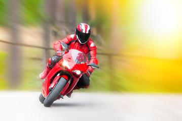 Dynamic motorbike racing