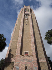 Looking up at the Bok Tower