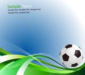 Sample text. Football ball