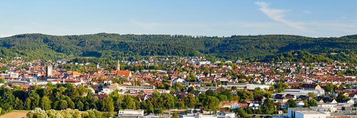 Panorama Schorndorf im Remstal