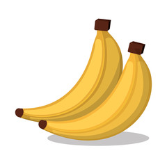icon banana design vector illustration eps 10