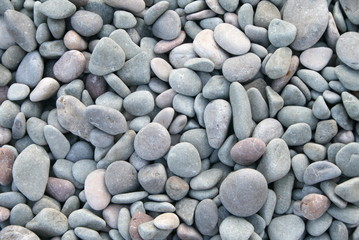 sea pebble background. stones the black sea coast
