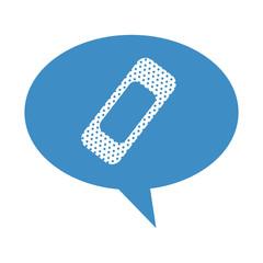 cure bandage isolated icon vector illustration design