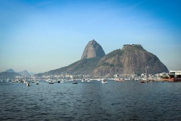 Nice view from Sugarloaf (Pao de Asucar), Rio de Janeiro, Brazil