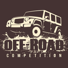Off-road 4x4 Car Competition