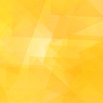 Abstract Yellow Pattern. Geometric Yellow Futuristic Background
