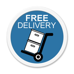 Runder Button Free Delivery