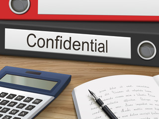 confidential on binders
