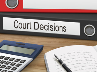 court decisions on binders
