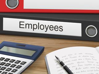 employees on binders