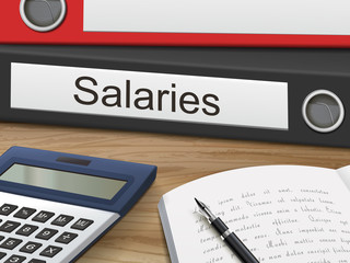 salaries on binders