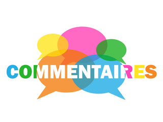 Icône COMMENTAIRES