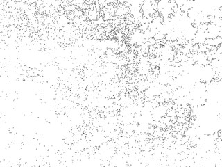 Grunge vector texture with dust and cracks.
