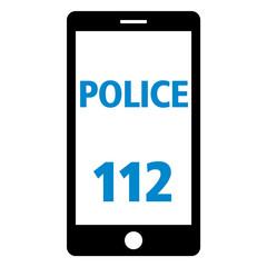 notruf 112 smartphone police pos
