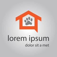 pets home vector logo design