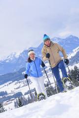 Wandertour im verschneiten Ostallgäu