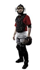 Wall Mural - Catcher Baseball Player