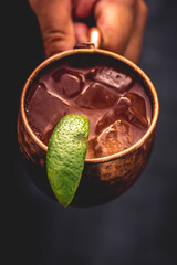 Ice Cold Moscow Mule