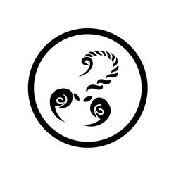 Scorpion button