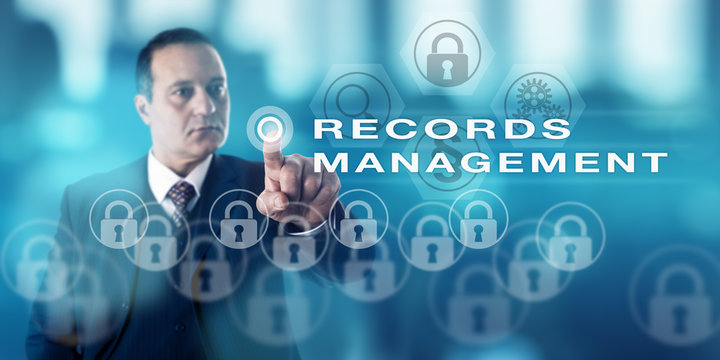 Mature IT Director Calling RECORDS MANAGEMENT