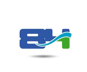 Template Logo 84nd anniversary. 84 years anniversary