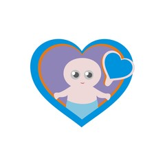 baby pacifier vector