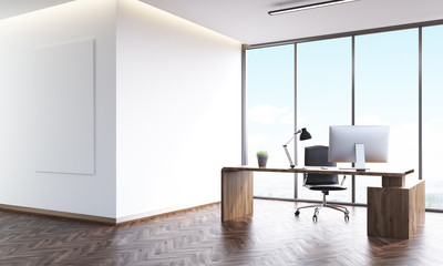 Wooden furniture office