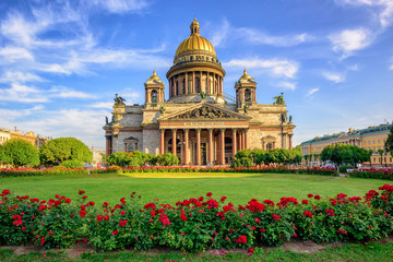 St Isaac cathedral, Saint Petersburg, Russia