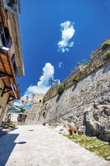 Photo sur Aluminium Népal Old Bar fort in Montenegro