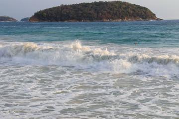 Beach of Phuket island in Thailand.