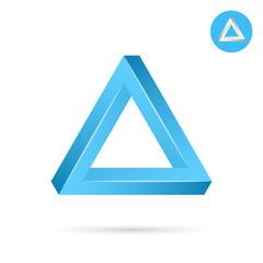 Delta letter icon