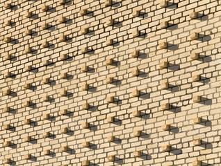 Bricks wall abstract background