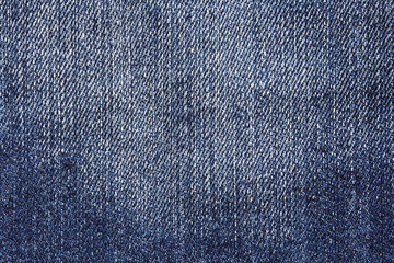 texture dark blue denim as background