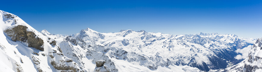 View On Switzerland Mountain Landscape