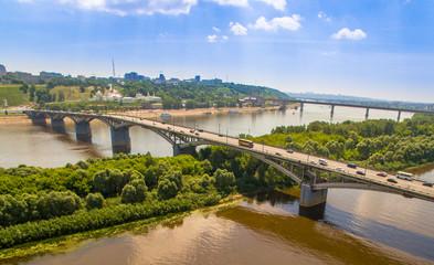 Two river Bridge traffic