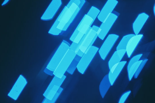 blue flare abstract background