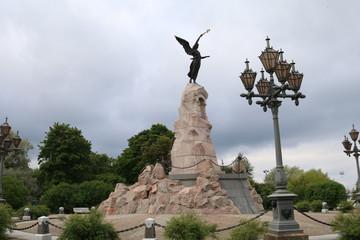 "Monument ""Russalka"" (1902) in Tallinn"