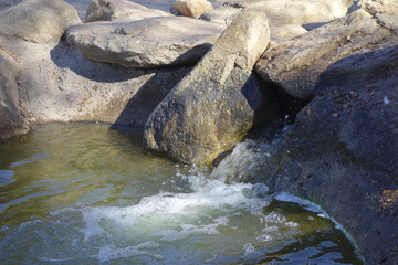 Winter Lake Waterfall, Cortez Park, Phoenix, AZ