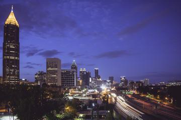 Atlanta in the Morning Hour