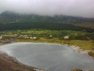 Озеро Кипящее о.Кунашир