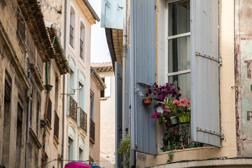 Town of Sete in Southern France