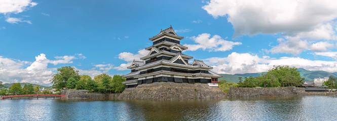信州松本城の風景