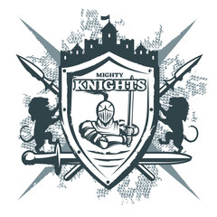 Mighty Knights Print