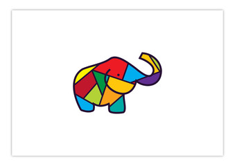 Elephant - Colorful and Happiness