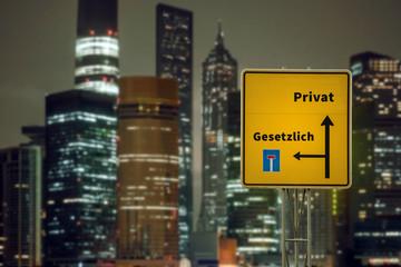Schild 125 - Privat