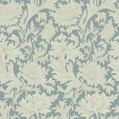 Modern floral seamless pattern for your design. Print on paper or textile. Desktop wallpaper. Vector illustration. Background.