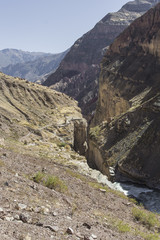 Peru, Cotahuasi canyon. The wolds deepest canyon.