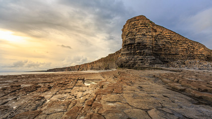 Glamorgan Heritage coast, UK