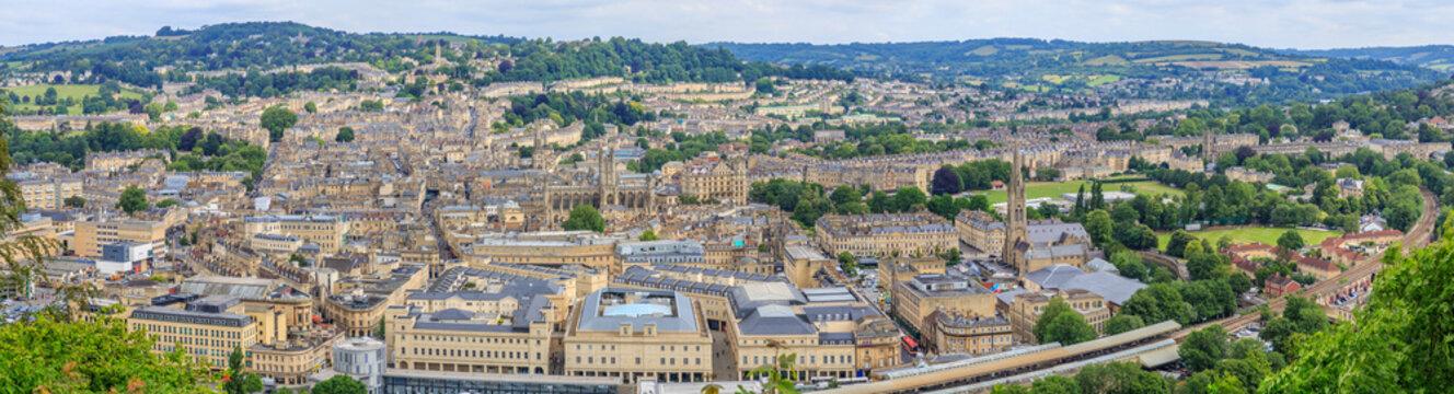 Bath City Panorama View
