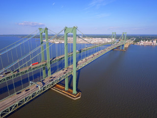 Delaware Memorial Bridge aerial image